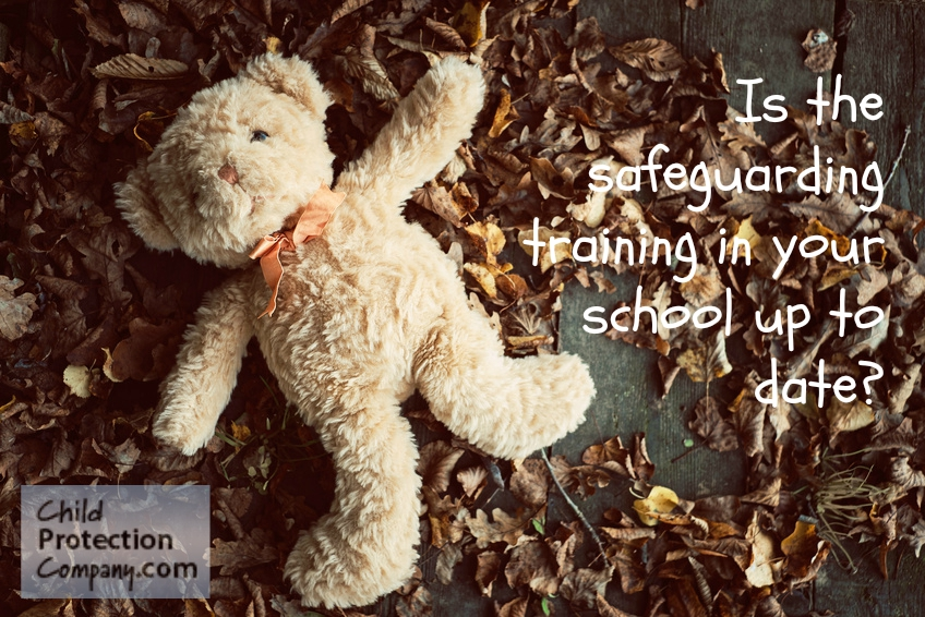 Is the safeguarding training in your school up to date?