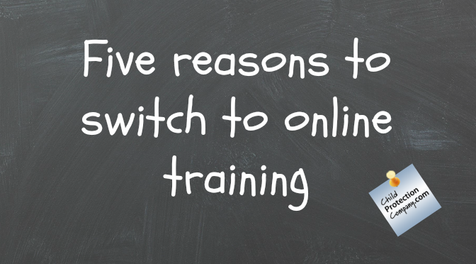 five reasons to switch to online training
