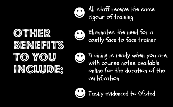 benefits of online training