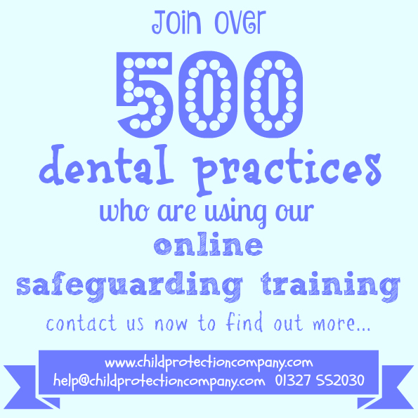 online safeguarding training for dentists