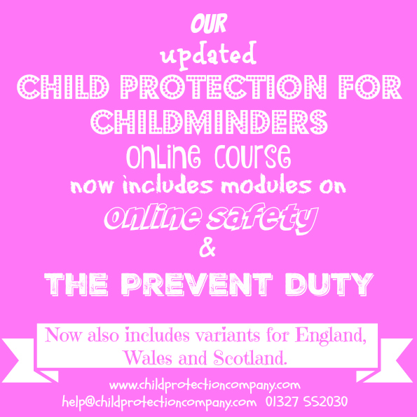child protection for childminders