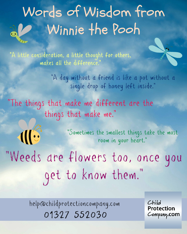 Words of Wisdom from Winnie the Pooh - Child Protection ...